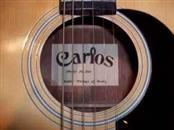 CARLOS ACOUSTIC GUITAR Acoustic Guitar 240